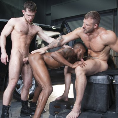 Austin, Pheonix and Kurtis - Raging Stallion photo gallery