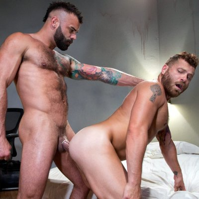 Riley Mitchell and Drake Masters flip fuck - Raging Stallion photo gallery