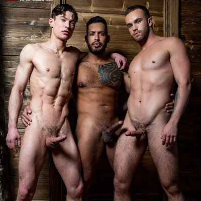 Viktor drills Jackson and Ruslan - Raw - Lucas Entertainment photo gallery