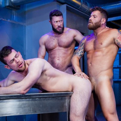 Johnny, Kurtis and Riley - Raw - Raging Stallion photo gallery