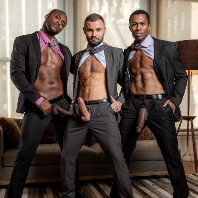 Andre, Sean and Jeffrey - Raw - Lucas Entertainment photo gallery