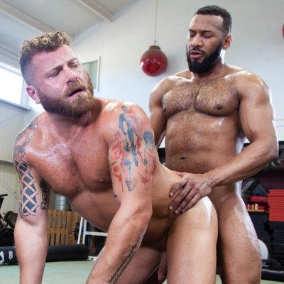 Jay Landford nails Riley Mitchell - Raging Stallion photo gallery