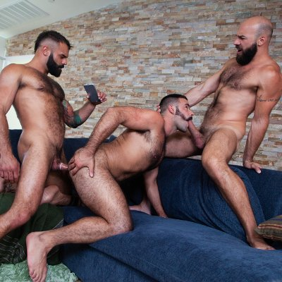Drake, Carlos and Max - Raging Stallion photo gallery