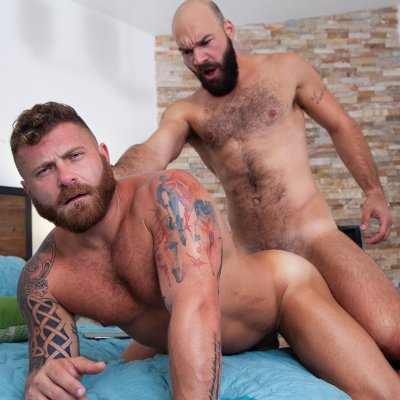 Max Duro pounds Riley Mitchell - Raging Stallion photo gallery