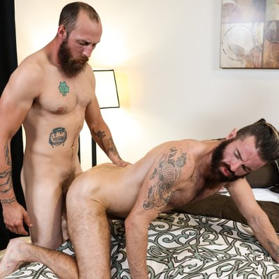 Brendan Patrick takes on Dustin Steele - Raw - Pride Studios photo gallery