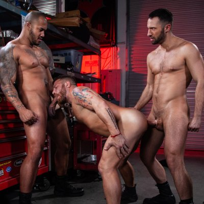 Jason, Riley and Colby - Raging Stallion photo gallery