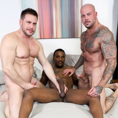 Sean, Hans and Pheonix - Raw - Pride Studios photo gallery