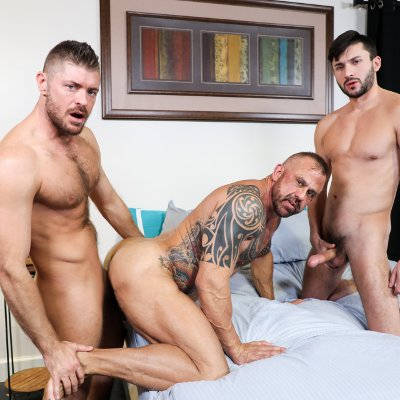 Scott and Jack fuck Jon - Raw - Pride Studios photo gallery