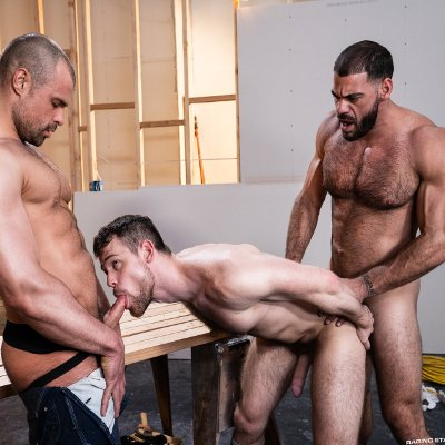 Ricky and Jaxx fuck Kurtis - Raw - Raging Stallion photo gallery