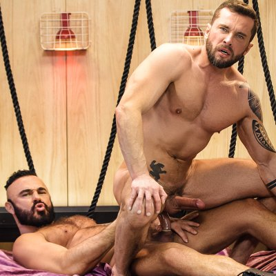 Jessy Ares dominates Tyler Berg - Men.com photo gallery
