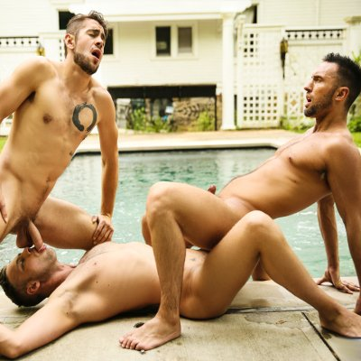 Damon, Colby and Dante - Men.com photo gallery