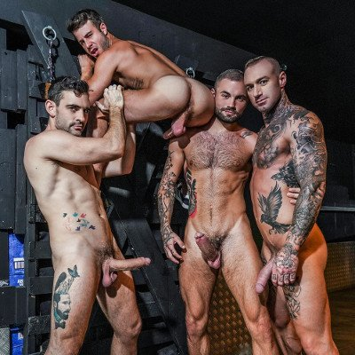 Allen, Dylan, Jeffrey and Max - Lucas Entertainment photo gallery