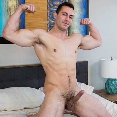 Ansen jerks off - Corbin Fisher photo gallery