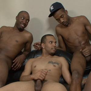 Black male orgy