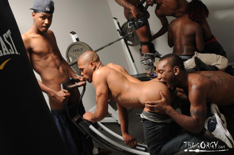 T-Porn, ThugZilla and friends - Dark Thunder / Thug Orgy