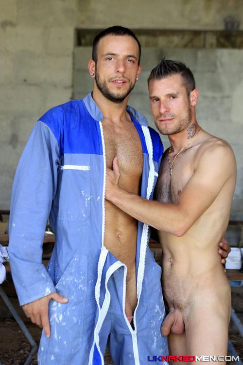Blue Collar Gay Men Cumming