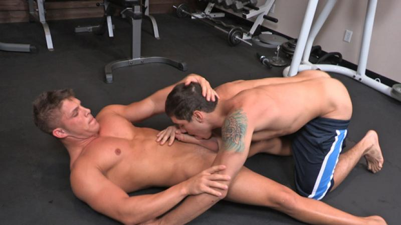 hot and sexy gay threesome