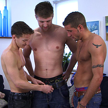 Dan James, Darius and Dan Broughton - English Lads photo gallery