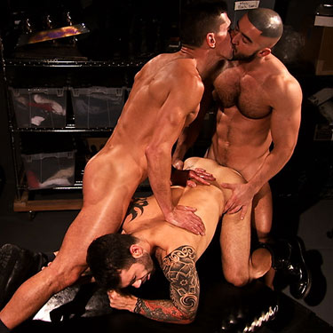 David Anthony, Francois Sagat, Junior Stellanor - Titan Men photo gallery