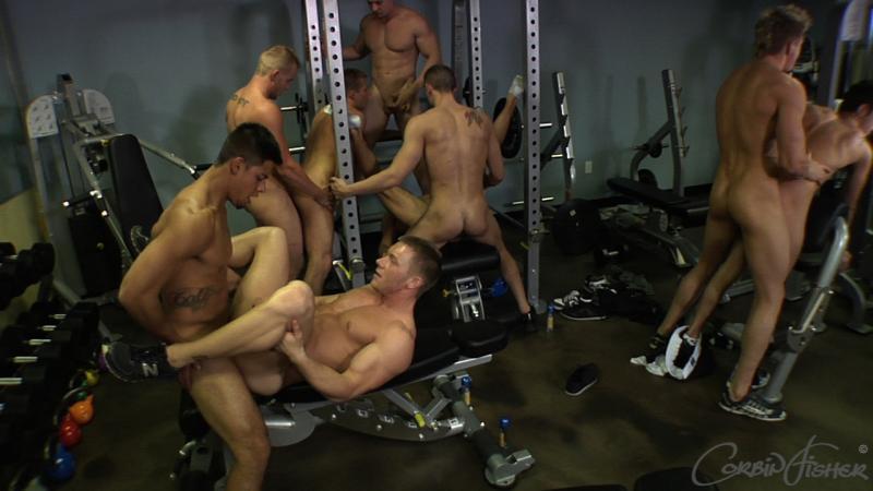 Corbin Fisher orgie