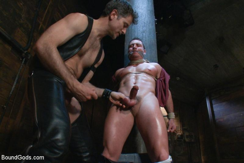 Marc Dylan bound and fucked by Master Avery - Bound Gods ...