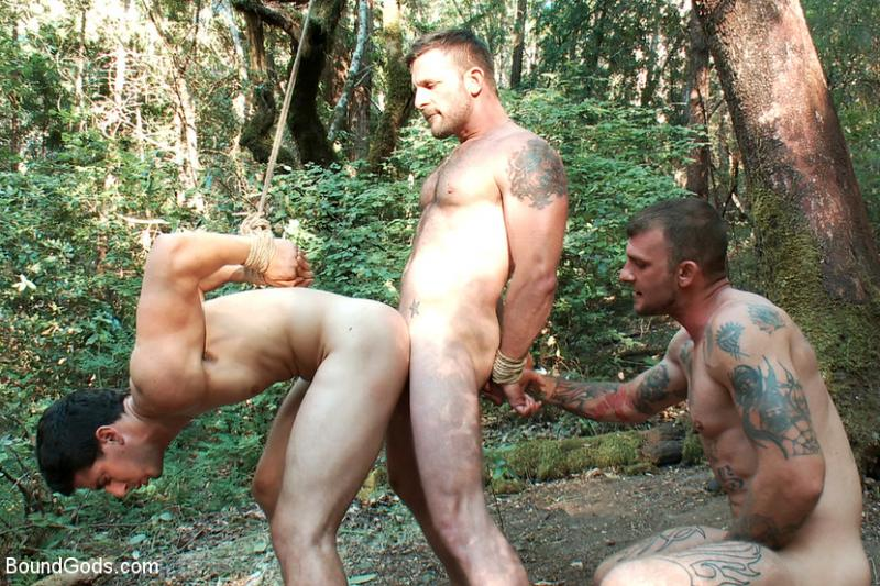 Ricky Sinz Tops Morgan Black And Tyler Alexander - Bound -9956