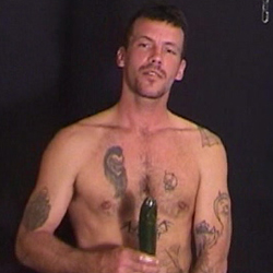 naked straight trailer gay man