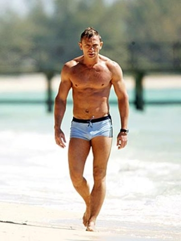 James bond naked