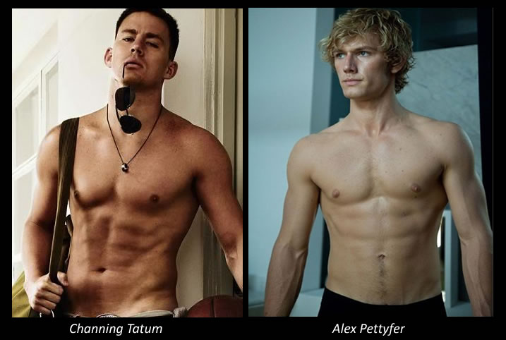 Channing Tatum gay Porr