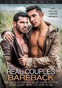 Real Couples Bareback porn DVD from Icon Male