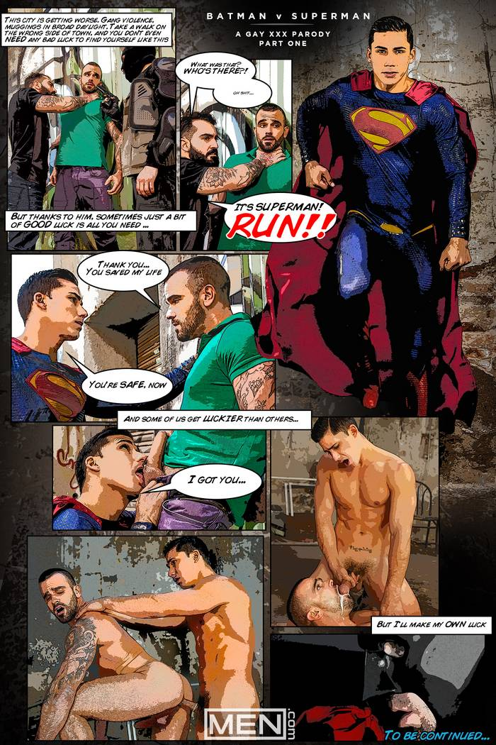 Gay Cartoon Superman Porn