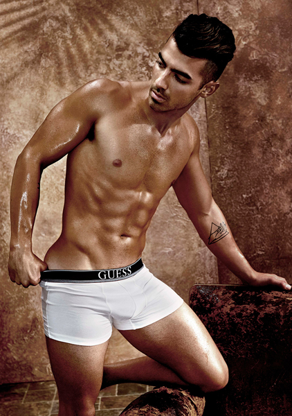 Joe Jonas underwear