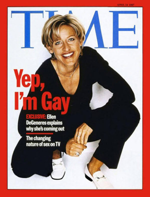 Ellen came out 2 decades ago