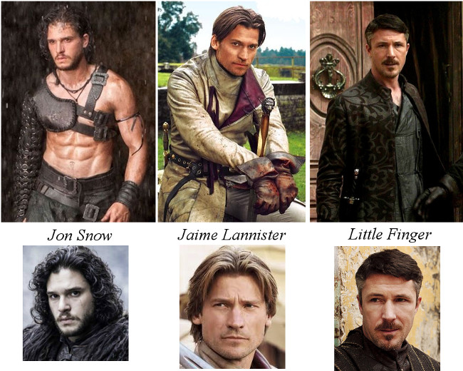 Game Of Thrones hunks
